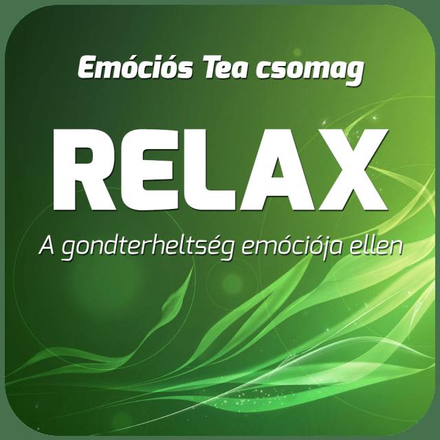 Relax - Emóciós Tea Csomag