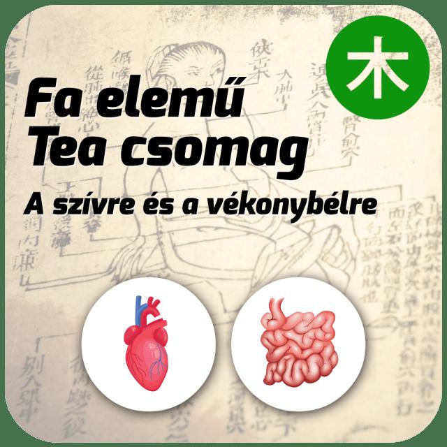Fa elemű Tea Csomag