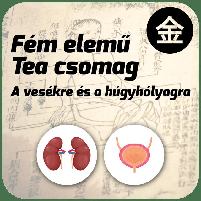 Fém elemű Tea Csomag