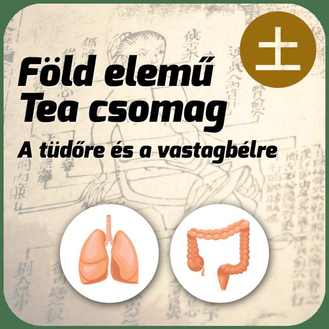 Föld elemű Tea Csomag